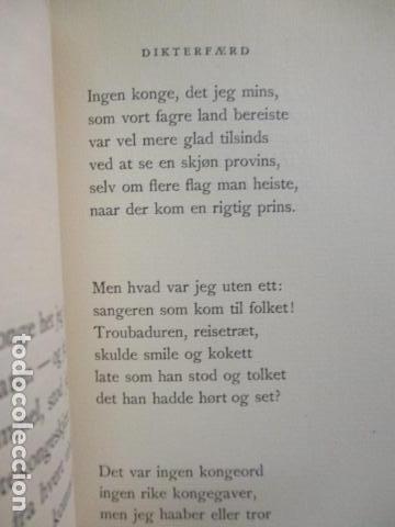 Libros antiguos: Finken Av Tistler - Herman Wildenvey - ( En Noruego) - año 1925 - ver fotos - Foto 14 - 68391833