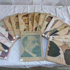 Libros antiguos: LOTE DE 19 EJEMPLARES. LA NOVELA TEATRAL.AÑOS 1916, 1917.. Lote 68396161