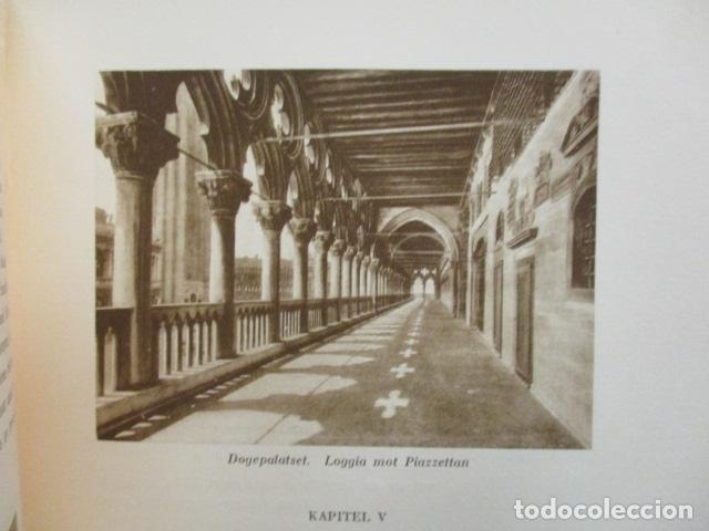 Libros antiguos: Venedig och dess Laguner - Pompeo Molmenti (en sueco) año 1928 - ver fotos - Foto 9 - 68396801