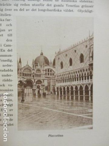 Libros antiguos: Venedig och dess Laguner - Pompeo Molmenti (en sueco) año 1928 - ver fotos - Foto 10 - 68396801