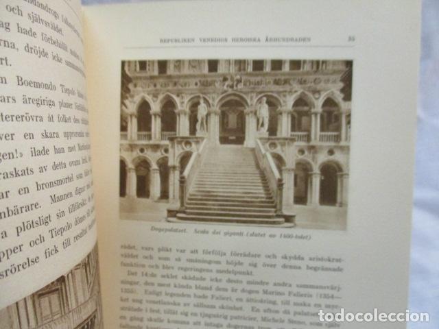 Libros antiguos: Venedig och dess Laguner - Pompeo Molmenti (en sueco) año 1928 - ver fotos - Foto 11 - 68396801