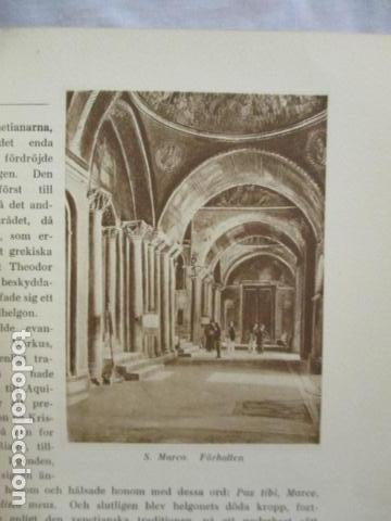 Libros antiguos: Venedig och dess Laguner - Pompeo Molmenti (en sueco) año 1928 - ver fotos - Foto 13 - 68396801