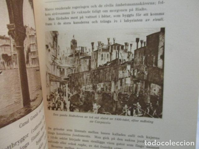 Libros antiguos: Venedig och dess Laguner - Pompeo Molmenti (en sueco) año 1928 - ver fotos - Foto 14 - 68396801