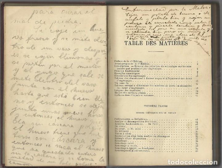 Libros antiguos: TISSAGE MECANIQUE, VICTOR SHULUMBERGER Y PAUL DUPONT, PARÍS, 1900 ? EN FRANCES - Foto 3 - 68414621