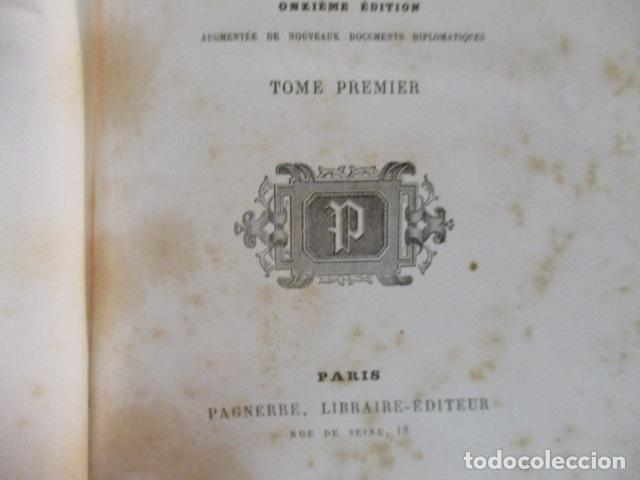 Libros antiguos: Histoire de dix ans: 1830-1840. 5 Tomos (Francés) Tapas duras – aprx. 1880 - de Louis Blanc - Ver - Foto 15 - 68417329