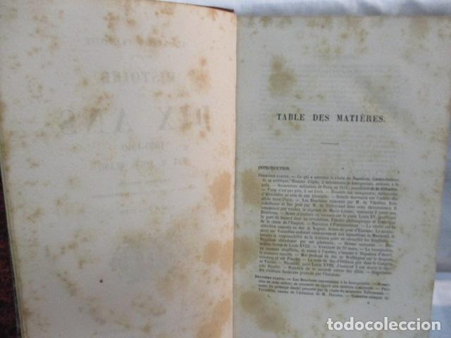 Libros antiguos: Histoire de dix ans: 1830-1840. 5 Tomos (Francés) Tapas duras – aprx. 1880 - de Louis Blanc - Ver - Foto 16 - 68417329