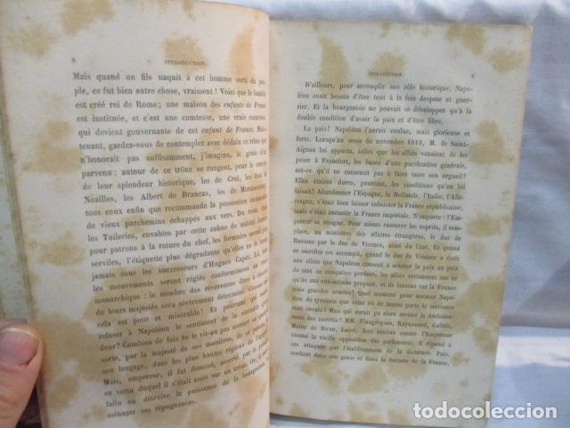 Libros antiguos: Histoire de dix ans: 1830-1840. 5 Tomos (Francés) Tapas duras – aprx. 1880 - de Louis Blanc - Ver - Foto 18 - 68417329