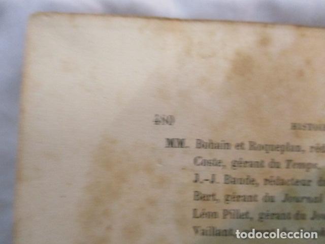 Libros antiguos: Histoire de dix ans: 1830-1840. 5 Tomos (Francés) Tapas duras – aprx. 1880 - de Louis Blanc - Ver - Foto 27 - 68417329
