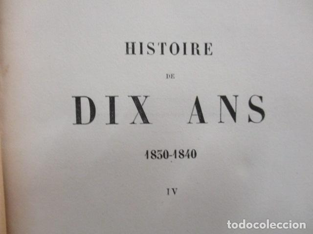 Libros antiguos: Histoire de dix ans: 1830-1840. 5 Tomos (Francés) Tapas duras – aprx. 1880 - de Louis Blanc - Ver - Foto 59 - 68417329