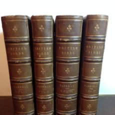 Libros antiguos: A HISTORY OF BRITISH BIRDS. (1871-1885) WILLIAM YARRELL (LONDON). Lote 68424913