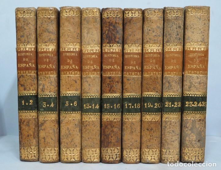 1841.- HISTORIA DE ESPAÑA. JUAN DE MARIANA. 9 TOMOS (Libros Antiguos, Raros y Curiosos - Historia - Otros)