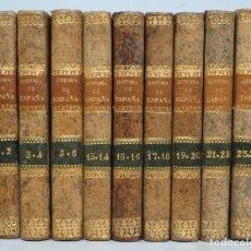Libros antiguos: 1841.- HISTORIA DE ESPAÑA. JUAN DE MARIANA. 9 TOMOS. Lote 68502605