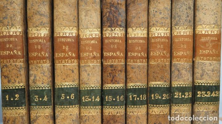 Libros antiguos: 1841.- HISTORIA DE ESPAÑA. JUAN DE MARIANA. 9 TOMOS - Foto 4 - 68502605