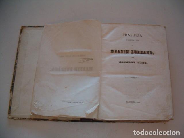 Libros antiguos: EDUARDO CHAO. Historia de la vida militar y política de Martín Zurbano. RM77714. - Foto 2 - 68563001