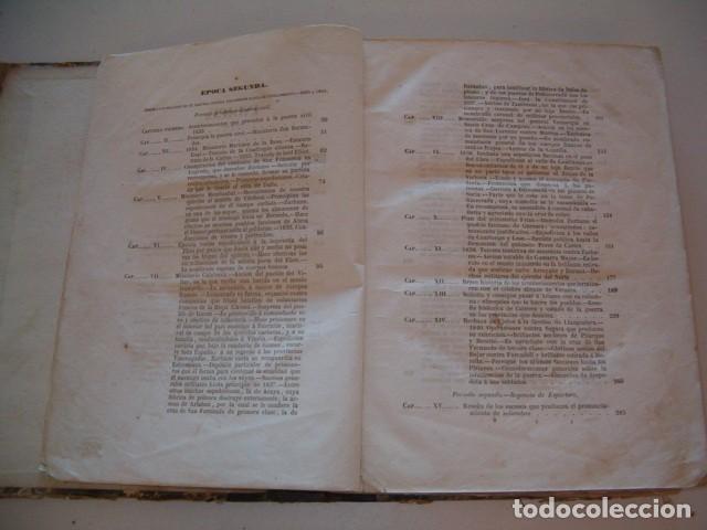 Libros antiguos: EDUARDO CHAO. Historia de la vida militar y política de Martín Zurbano. RM77714. - Foto 4 - 68563001