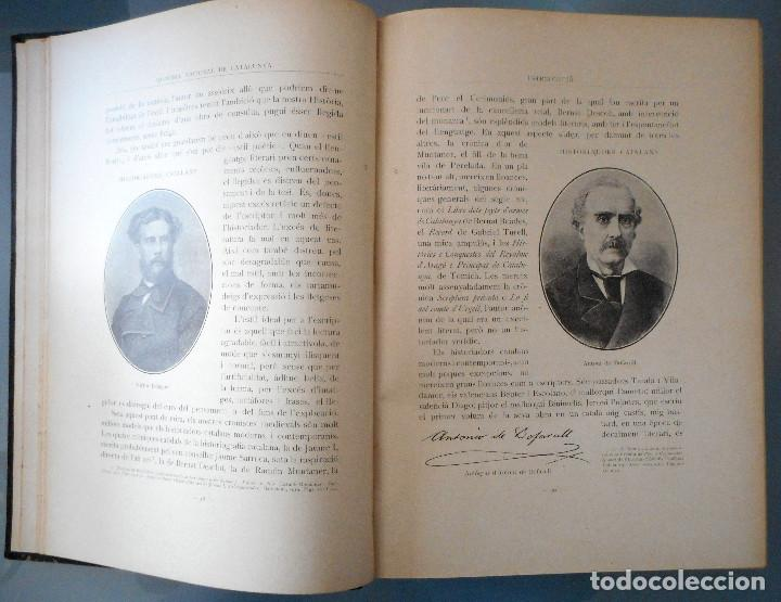 Libros antiguos: TOMOS DEL I AL V DE HISTORIA NACIONAL DE CATALUNYA - ANTONI ROVIRA VIRGILI - AÑO 1922 - Foto 5 - 68631649