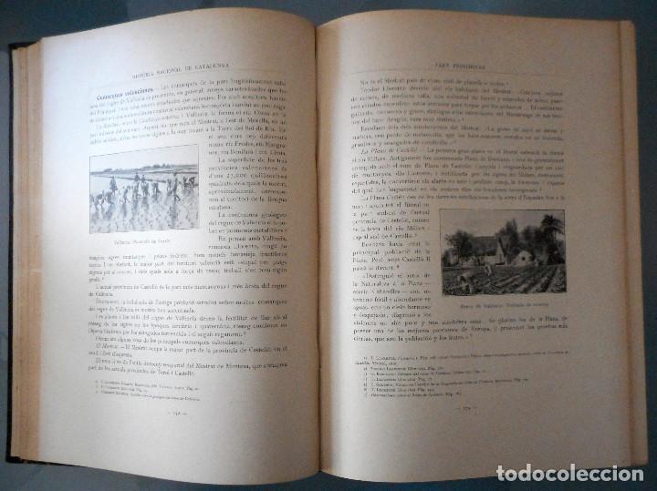 Libros antiguos: TOMOS DEL I AL V DE HISTORIA NACIONAL DE CATALUNYA - ANTONI ROVIRA VIRGILI - AÑO 1922 - Foto 6 - 68631649