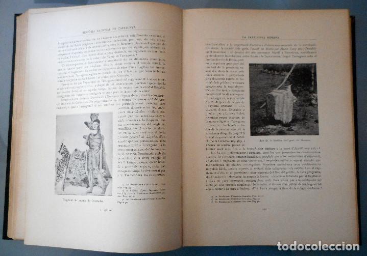 Libros antiguos: TOMOS DEL I AL V DE HISTORIA NACIONAL DE CATALUNYA - ANTONI ROVIRA VIRGILI - AÑO 1922 - Foto 12 - 68631649