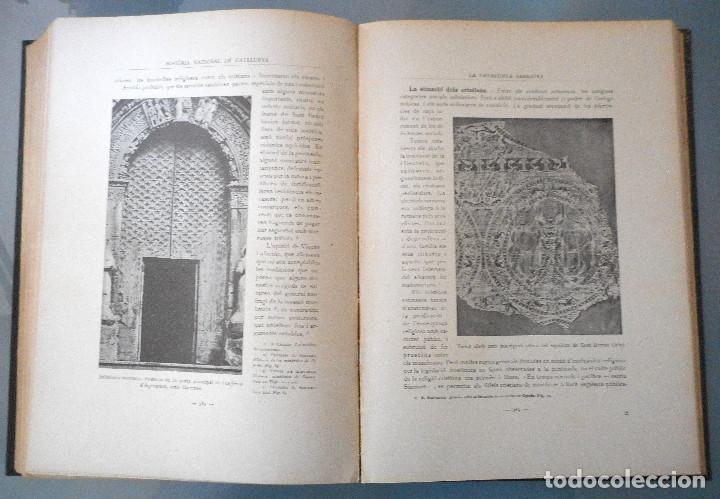 Libros antiguos: TOMOS DEL I AL V DE HISTORIA NACIONAL DE CATALUNYA - ANTONI ROVIRA VIRGILI - AÑO 1922 - Foto 13 - 68631649