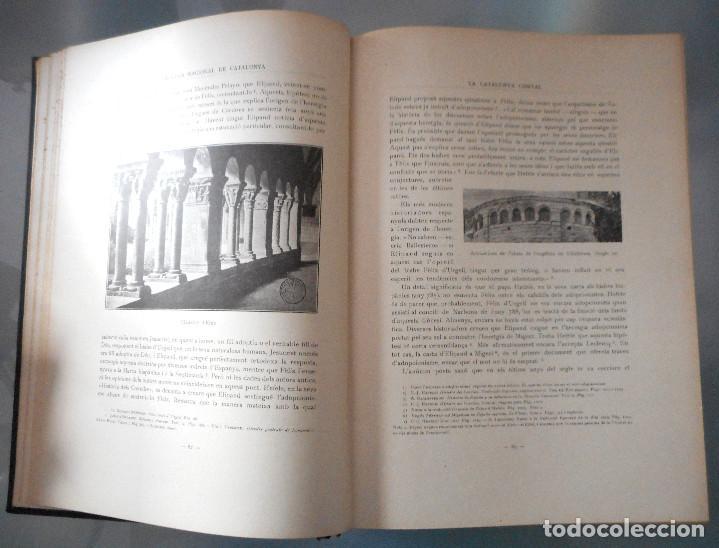 Libros antiguos: TOMOS DEL I AL V DE HISTORIA NACIONAL DE CATALUNYA - ANTONI ROVIRA VIRGILI - AÑO 1922 - Foto 17 - 68631649