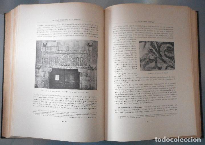 Libros antiguos: TOMOS DEL I AL V DE HISTORIA NACIONAL DE CATALUNYA - ANTONI ROVIRA VIRGILI - AÑO 1922 - Foto 19 - 68631649