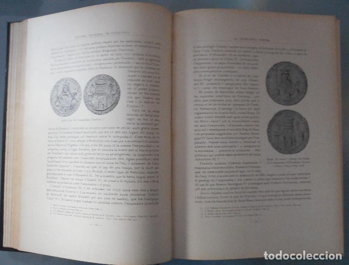 Libros antiguos: TOMOS DEL I AL V DE HISTORIA NACIONAL DE CATALUNYA - ANTONI ROVIRA VIRGILI - AÑO 1922 - Foto 23 - 68631649