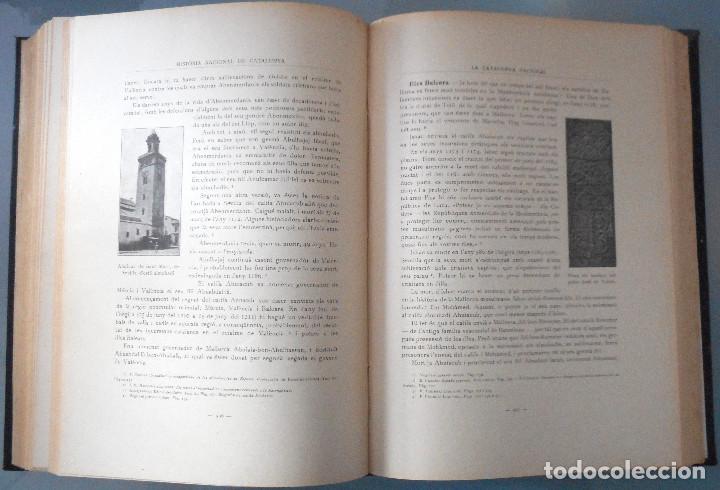 Libros antiguos: TOMOS DEL I AL V DE HISTORIA NACIONAL DE CATALUNYA - ANTONI ROVIRA VIRGILI - AÑO 1922 - Foto 25 - 68631649