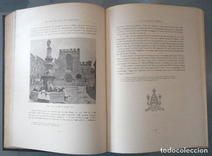 Libros antiguos: TOMOS DEL I AL V DE HISTORIA NACIONAL DE CATALUNYA - ANTONI ROVIRA VIRGILI - AÑO 1922 - Foto 30 - 68631649