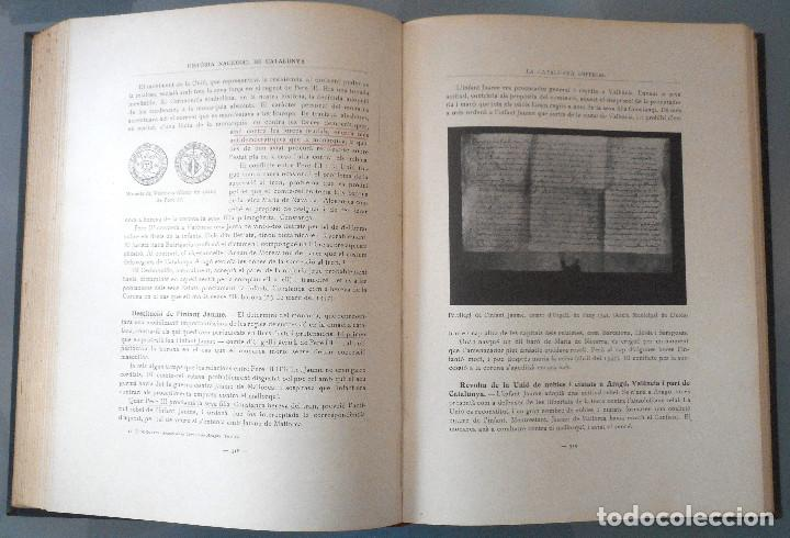 Libros antiguos: TOMOS DEL I AL V DE HISTORIA NACIONAL DE CATALUNYA - ANTONI ROVIRA VIRGILI - AÑO 1922 - Foto 31 - 68631649