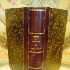 Libros antiguos: CUENTOS DE VARIOS COLORES, DE ANTONIO DE TRUEBA. 1ª EDICIÓN 1.866.. Lote 68721489