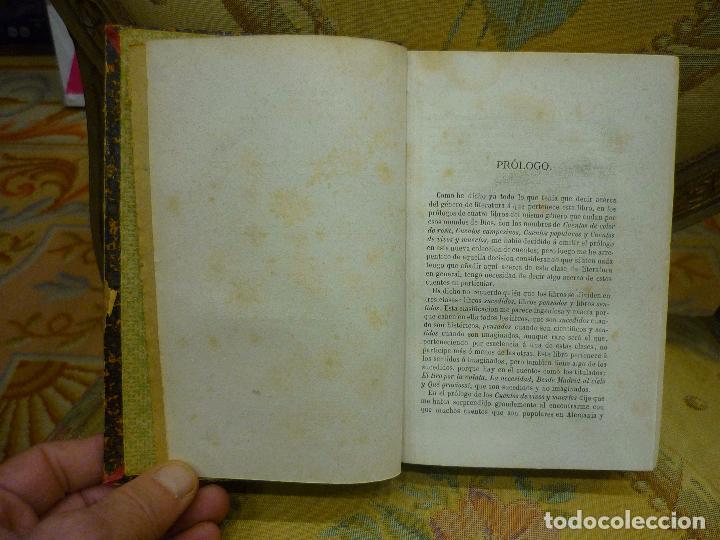 Libros antiguos: CUENTOS DE VARIOS COLORES, DE ANTONIO DE TRUEBA. 1ª EDICIÓN 1.866. - Foto 7 - 68721489