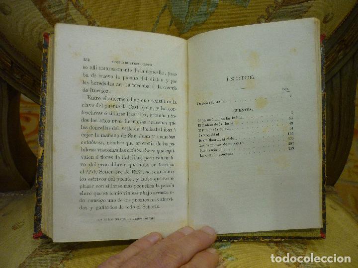 Libros antiguos: CUENTOS DE VARIOS COLORES, DE ANTONIO DE TRUEBA. 1ª EDICIÓN 1.866. - Foto 8 - 68721489