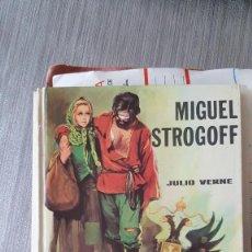 Alte Bücher - MIGUEL STROGOFF JULIO VERNE - 68736685