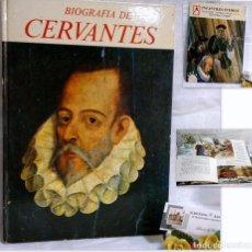 Libros antiguos: CERVANTES. DIBUJOS DE TEO. QUINTANILLA SAINZ, EFRÉN.- COLECCION ESTRELLA POLAR Nº 11. Lote 68776481