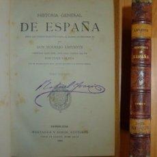 Libros antiguos: LAFUENTE, MODESTO. HISTORIA GENERAL DE ESPAÑA : DESDE LOS TIEMPOS PRIMITIVOS HASTA... TOMO NOVENO. Lote 68809061