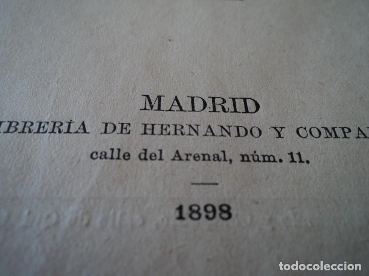 Libros antiguos: GRAMÁTICA francesa Y MÉTODO OLLENDORFF CLAVE DE LOS TEMAS 1898 EDUARDO BENOT ED. HERNANDO - Foto 3 - 68976853