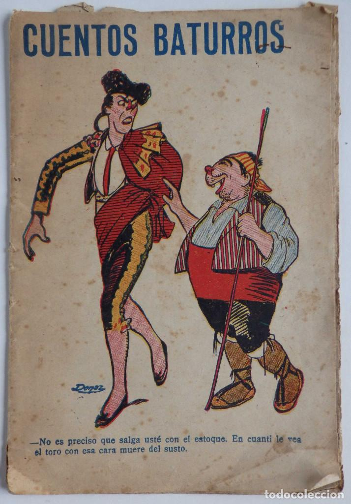 CUENTOS BATURROS (Libros Antiguos, Raros y Curiosos - Literatura Infantil y Juvenil - Otros)