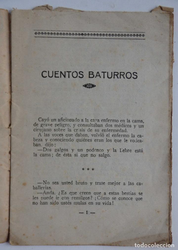 Libros antiguos: Cuentos Baturros - Foto 3 - 68979861
