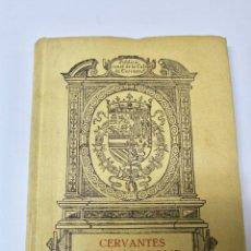Libros antiguos: L-1487. CERVANTES EN VALLADOLID, NARCISO ALONSO CORTES. 1918. EDICION ESPECIAL NUMERADA.. Lote 69190533