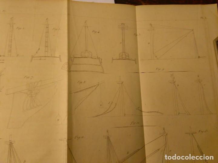 Libros antiguos: Dubreuil, P-J. Manuel de matelotage et de manoeuvre. Aparejo y Maniobra Veleros, 1857 - Foto 4 - 69226777