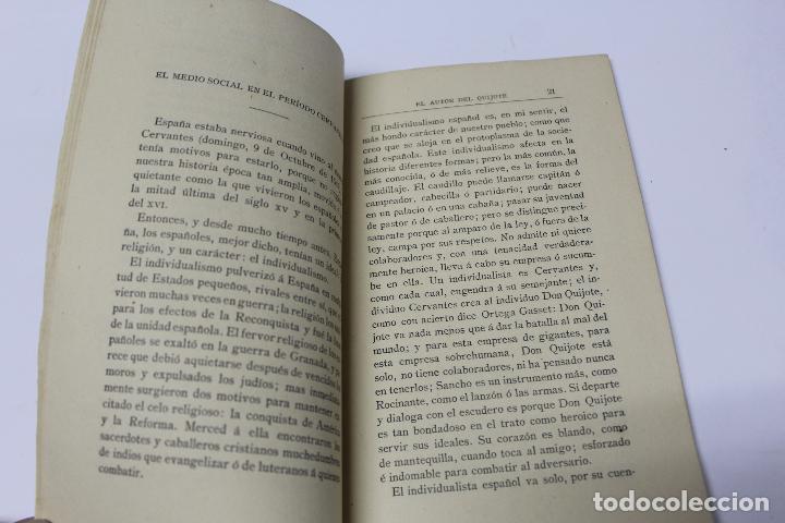 Libros antiguos: L- 4280. EL AUTOR DEL QUIJOTE, ANTECEDENTES DE UN GENIO. JOSE GOMEZ OCAÑA. 1914. - Foto 4 - 69241149