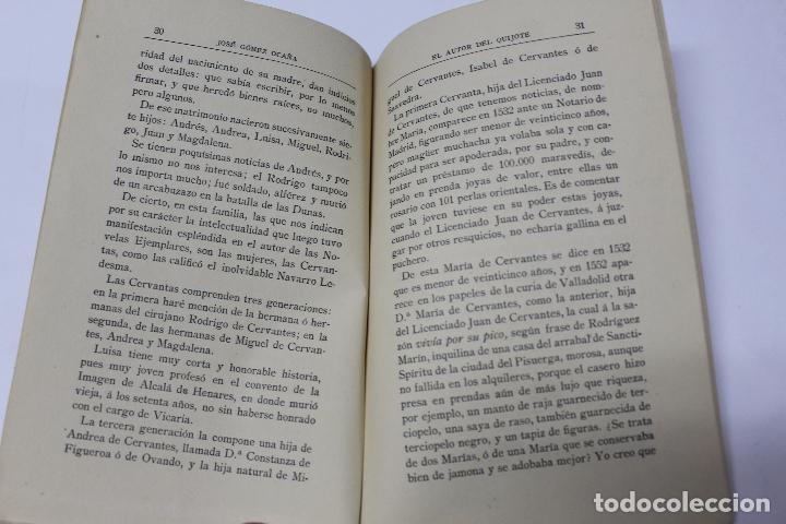 Libros antiguos: L- 4280. EL AUTOR DEL QUIJOTE, ANTECEDENTES DE UN GENIO. JOSE GOMEZ OCAÑA. 1914. - Foto 5 - 69241149