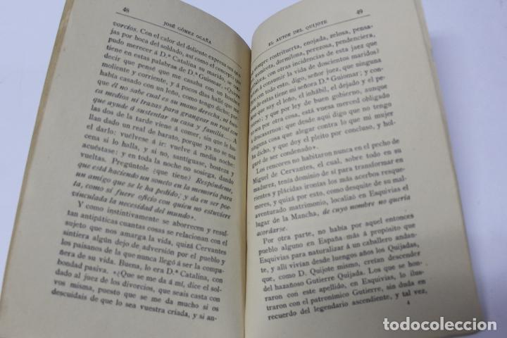 Libros antiguos: L- 4280. EL AUTOR DEL QUIJOTE, ANTECEDENTES DE UN GENIO. JOSE GOMEZ OCAÑA. 1914. - Foto 6 - 69241149