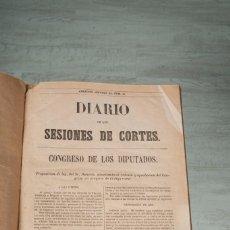 Alte Bücher - DIARIO DE LAS SESIONES DE CORTES CONGRESO DE LOS DIPUTADOS - 3 MAYO 1876 - 1 TOMO - 69250169