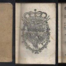 Libros antiguos: GRAMATICA MILITAR DE TACTICA PARA LA CAVALLERIA, O INSTRUCCIÓN ABREVIADA. G. RAMIREZ DE ARELLANO.. Lote 69292741
