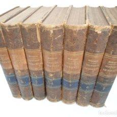 Alte Bücher - HISTORIA GENERAL DE ESPAÑA Y DE SUS INDIAS - D. VICTOR GEBHARDT - LUIS TASSO 1864 - 7 TOMOS COMPLETA - 69294485