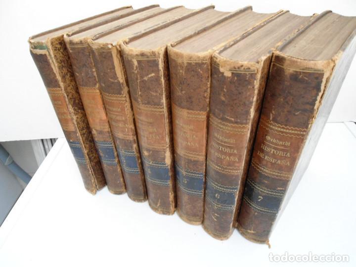 Libros antiguos: HISTORIA GENERAL DE ESPAÑA Y DE SUS INDIAS - D. VICTOR GEBHARDT - LUIS TASSO 1864 - 7 TOMOS COMPLETA - Foto 2 - 69294485