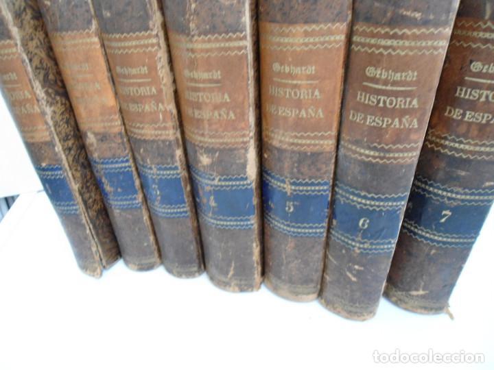 Libros antiguos: HISTORIA GENERAL DE ESPAÑA Y DE SUS INDIAS - D. VICTOR GEBHARDT - LUIS TASSO 1864 - 7 TOMOS COMPLETA - Foto 3 - 69294485
