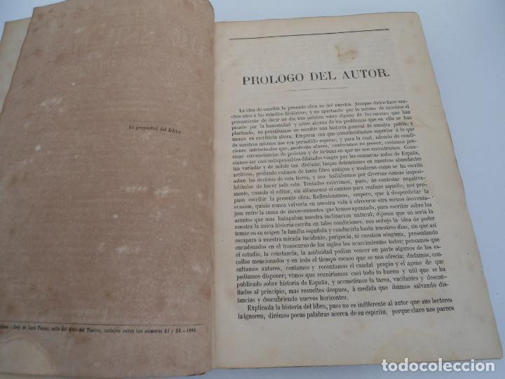 Libros antiguos: HISTORIA GENERAL DE ESPAÑA Y DE SUS INDIAS - D. VICTOR GEBHARDT - LUIS TASSO 1864 - 7 TOMOS COMPLETA - Foto 7 - 69294485