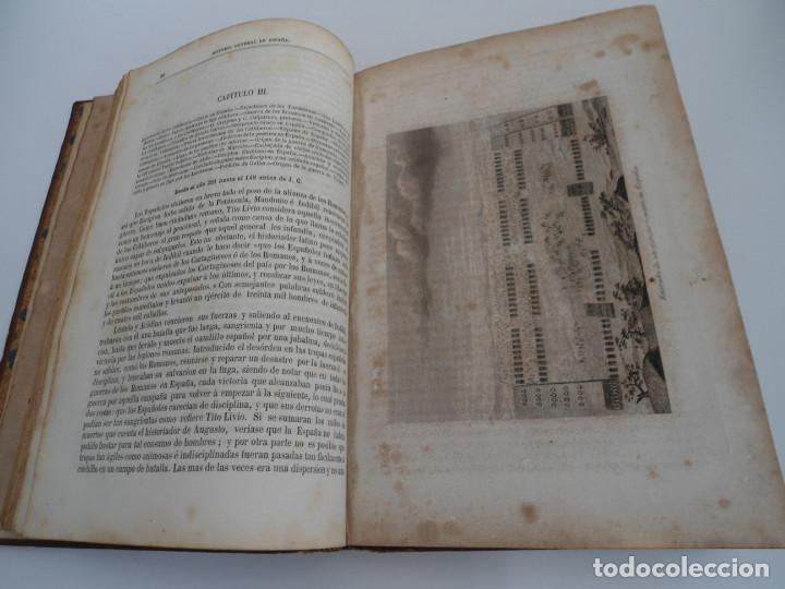 Libros antiguos: HISTORIA GENERAL DE ESPAÑA Y DE SUS INDIAS - D. VICTOR GEBHARDT - LUIS TASSO 1864 - 7 TOMOS COMPLETA - Foto 8 - 69294485